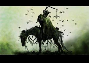 Green horse pestilence