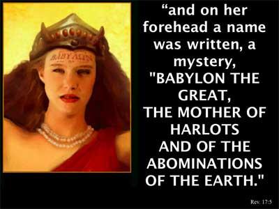 A mystery babylon harlot