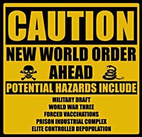 New World ORder caution