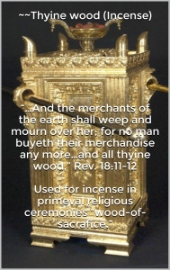 Thynewoodincensealterofincense