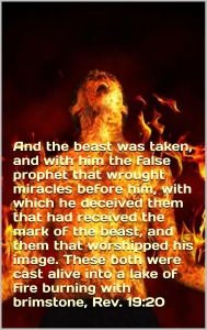 Beast false prophet lake fire