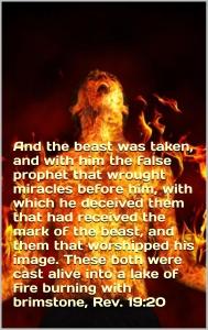 Beast false prophet lake fire
