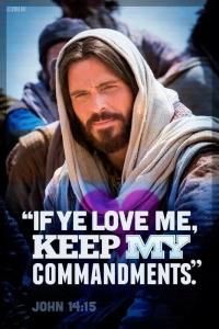Jesus commandment photo