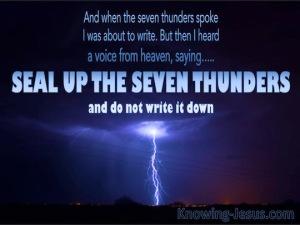 1 SEVEN THUNDERS