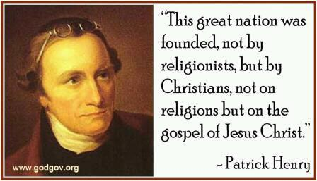 America Christian Nation Patrick Henry