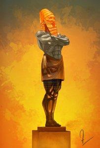 King nebuchadnezzar statue