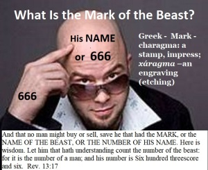 Mark of beast poster