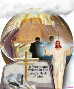Lambs book of Life your name